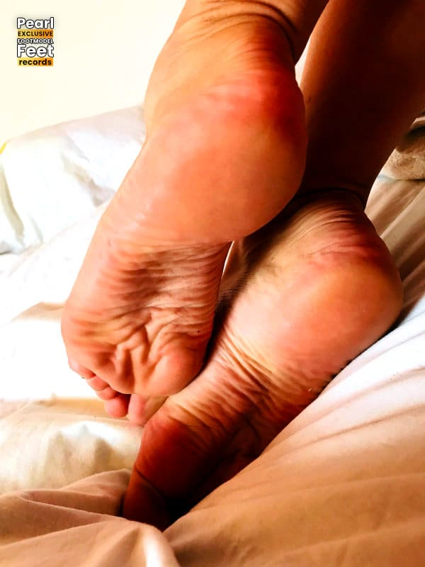 Footmodel Pearl bed soles