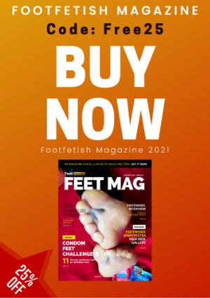 Feetrecords promotion footfetish Magazine